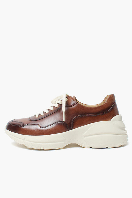 [New Arrival SALE]그라도 스니커즈 R18D045 (프렌치 다크브라운)Grado Sneakers (French Darkbrown)