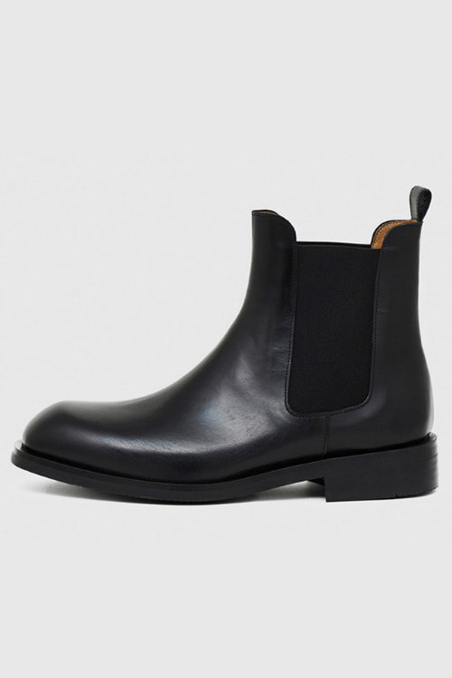 [SEASON SALE]스퀘어토 첼시 부츠 R19M099 (블랙)Square Toe Chelsea Boot (Black)